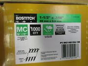 1000 Bostitch 1-1/2 X .148 Collated Joist Hanger Nails. Paper Hd Galv. Ledger