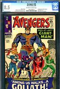 Avengers 28 Cgc Graded 8.5 - First Appearance Of The Collector - 1st Goliath
