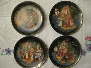Complete Serie 4 Russian Faity Tale Plates Andrdquothe Tale Of Tsar Saltanandrdquo