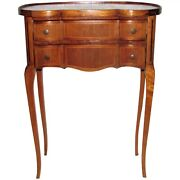 Antique French Mahogany Side Table 18th Century