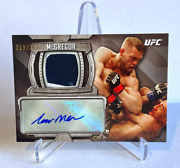 2014 Topps Ufc Knockout Conor Mcgregor Relic Auto /250