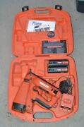 Paslode Cordless 16 Gauge Angled Finish Nailer 900600 With Battery ,chargerand Cas