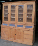 Vintage French Country Store Cupboard Cabinet