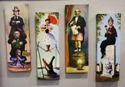Haunted Mansion Stretching Portraits Canvas Prints 24 X 8 4 Panel