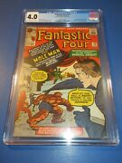 Fantastic Four 22 Silver Age 2nd Mole Man Key Palmiotti Collection Cgc 4.0 Vg