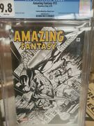 Amazing Fantasy 15 First Appearance Spiderman Peter Parker. Turkish 2019 Sketch