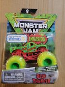 Monster Jam Zombie Invasion Blue Thunder Truck Special Edition
