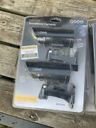 Q-see Realistic Decoy Outside Security Surveillance Camera W/ Warning Sign 2pack