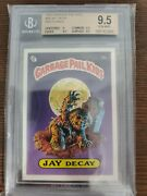 1985 Topps First 1st Series Garbage Pail Kids Jay Decay Matte Bgs 9.5 Gem Mint