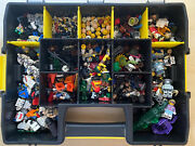 Vintage 550+ Lego Minifig Star Wars Minifigures Heads Weapons Pirates Dc