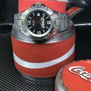 Coca-cola Stainless Steel Watch By Relic New