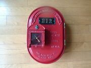 Rare Oval Gamewell Fire Alarm Box With Key