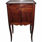 Antique Italian Or French Mahogany Side Cabinet Nightstand 18th Century