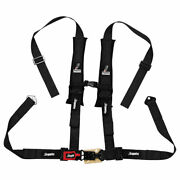 Dragonfire Racing 4-point H-style Safety Harness W/sternum Clip 2 Driver Side