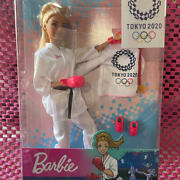 Barbie Doll 2020 Olympics Limited Karate Version Japan Free Shipping