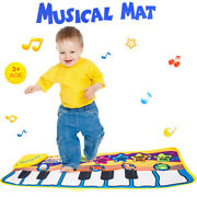 Musical Piano Mat Kids Touch Play Dancing Learn Music Educational Child Toy Gift