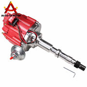 For Amc Jeep 1967-1990 290 304 343 360 390 And 401 Red Hei Distributor W/ 65k Coil