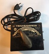 Vintage Original Louis Marx And Co Toy Train Transformer 1229 For Parts Or Repair
