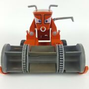Disney Cars Pixar 2015 Chase And Change Frank Combine Tractor With Clear Bin