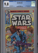 Star Wars 16 Mt 9.8 Cgc White Pages Goodwin Story Simonson Art And Cover