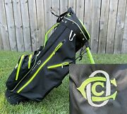 Oakmont Country Club Sun Mountain Carry/stand Golf Bag Black H2no Waterproof