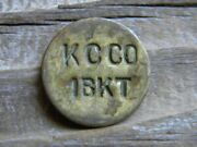 Trappe Maryland Picker Fram Trade Token Kirby Canning Co 1 Bucket Talbot Co. Md