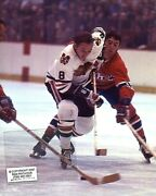 Jim Pappin Chicago Blackhawks 1971 V Montreal Photo C 2 Color