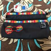 Lesportsac × Hello Kitty Travel Makeup Pouch Cosmetic Case Bag 15×20×6cm