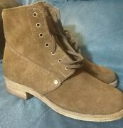 M1918 Pershing Trench Boots Rough Out Size 10.5 New Wwi