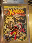 X-men 94 Cgc 6.5 White Pages 2nd New X-men + 3rd Full Wolverine Appearance