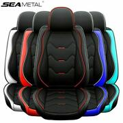 Deluxe Car Seat Cover Pu Leather 360anddeg Full Surround Protector Auto Accessories