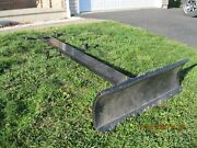 48 Snow Plow Attachment. Fits Country Clipper Zero-turn Mower