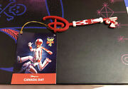Disney Store Collectible Key Canada Day Toy Story 4 Duke Caboom