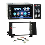 Concept Dvd Usb Mp3 Bluetooth Stereo Dash Kit Harness For 03-09 Toyota 4 Runner