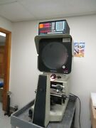 Deltronic Dh214 Optical Comparator Profile Projector Mpc5 Computation Readout