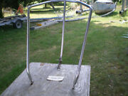 Bow Pulpit From A Hunter 25 Sailboat