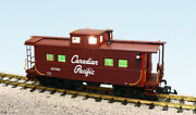 Usa Trains R12156 G Canadian Pacific Center Cupola Caboose Brown/red Ends