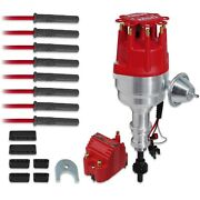 Msd 84747 Engine Ignition Kit With Blaster Coil Fits Ford 351c-460 Crate Engine