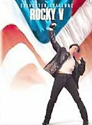 Rocky V Dvd Widescreen New Sealed Sylvester Stallone Talia Shire