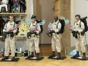 Rare Ghostbusters Set Of 4 Premium 1/6 Action Figures Incl. Slimer Blitzway