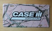 Case Ih Agriculture Pink Camo Realtree License Plate Tractor Truck Tag