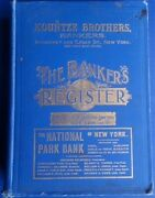 Bankers Register + Selected Lawyer Directory 1904 V 29 Xxix +60 Color State Maps