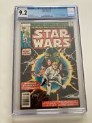 Marvel Star Wars Comic 1 Cgc 9.2 Original First Issue Key First Appearance