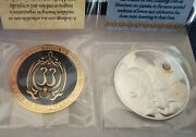 Disneyland Club 33 Challenge Coins2 50th Anniversary + Mickey Key Members Only