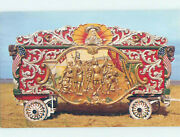 Chrome Antique Circus Wagon At Museum Baraboo Wisconsin Wi Ag1040@