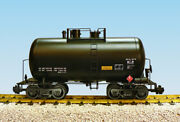 Usa Trains R15200 G Undecorated Beer Can Tank Car Black