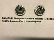 American Flyer Original Parts - Pa14c941 Flangeless Wheels For 21085 Pacific