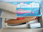 Vintage Russian Soviet Childrenand039s Toy Remote Controlled Submarine Of The Ussr