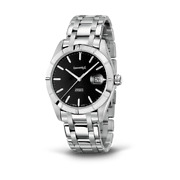 Watch Eberhard Unisex 41015 Mechanical Analogue Only Time Steel