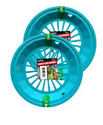 New Colorful Paper Plate Holders 2 Sets Of 4 Teal